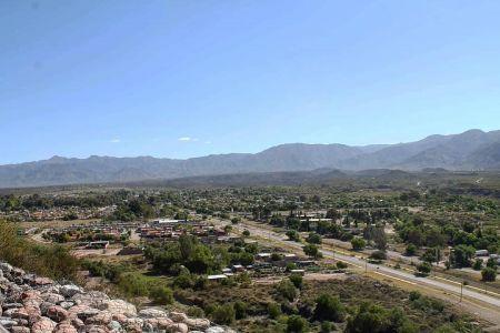 Mendoza - Vue du Cerro de la Gloria 2