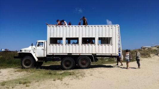 Cabo Polonio - Camion