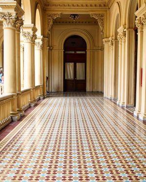 Casa Rosada - Couloir Extérieur