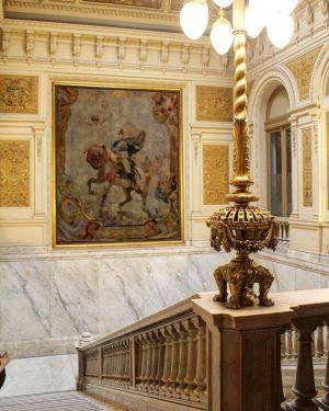 Casa Rosada - Escalier Français
