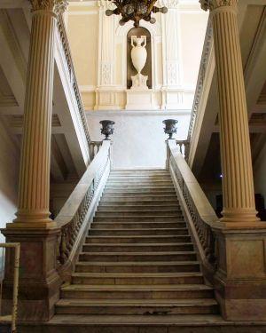 Casa Rosada - Escalier Entrée
