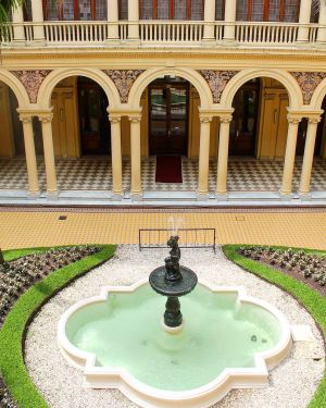 Casa Rosada - Patio