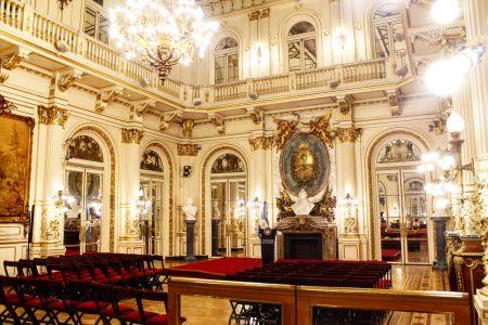 Casa Rosada - Salon Discours
