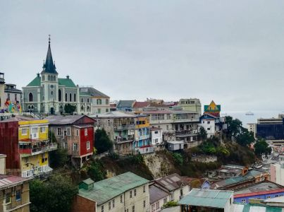Valparaiso - Vue sur le Cerro Concepcion