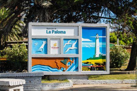 La Paloma - Panneau