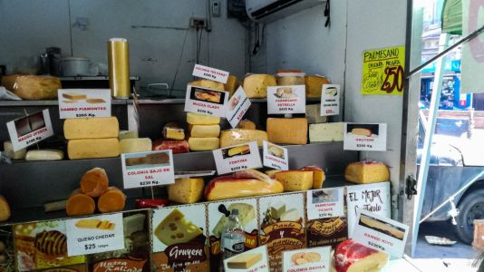 Montevideo - Feria Fromage