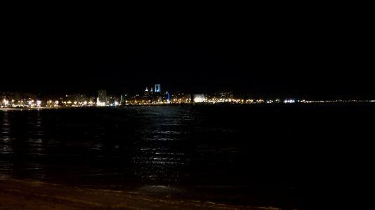 Montevideo - Vue de nuit