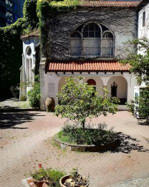 Buenos Aire - Musée Hispanoamericano Cour