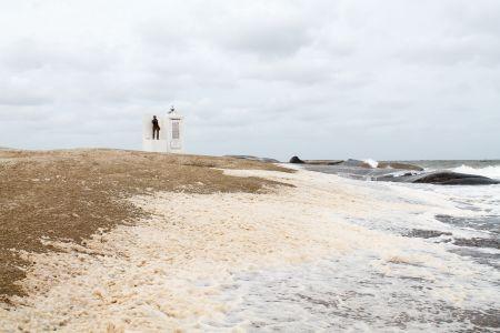Punta Del Diablo - Statue