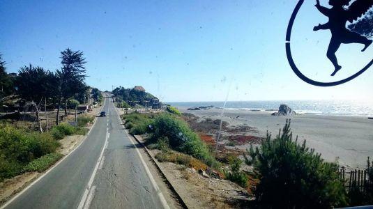 Route Pichilemu-Curanipe