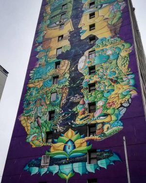 Valparais - Street Art Quartier Plan