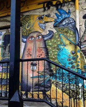 Valparaiso - Fresque Street Art