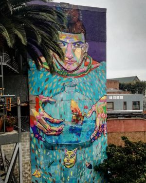 Valparaiso - Fresque Street Art 2