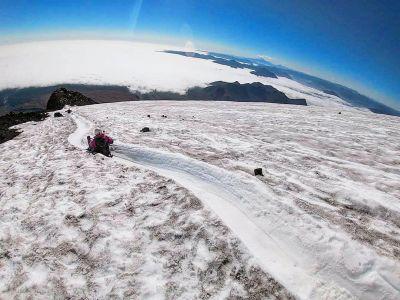 Volcan Villarica - Descente En Luge 2