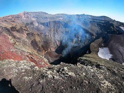 Volcan Villarica - Le Cratère