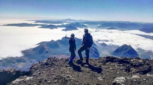 Volcan Villarica - Le Sommet