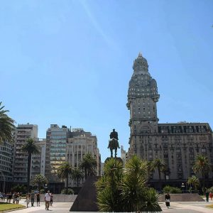 Montevideo - Plaza Independencia